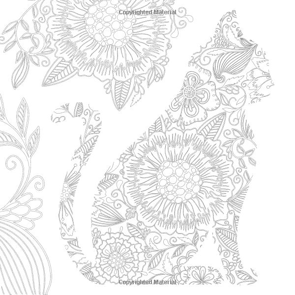 Cats 70 Designs To Help You De Stress Coloring For Mindfulness