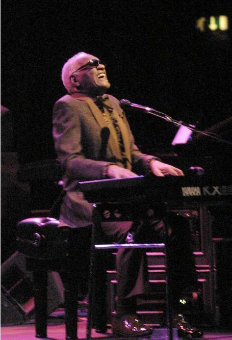 Ray Charles - Aalborg Hallen november 2001