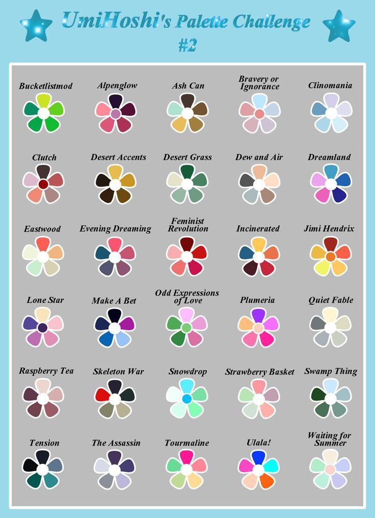 Art & Sketch — I'm having a lot of fun doing palette challenges,…  – Bullet Journal