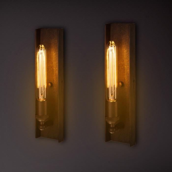 Long Edison Bulb Wall Light Wall Lamp Wall Lights Wall Lamps Diy
