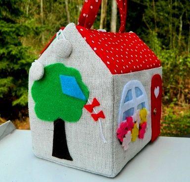 Самодельный кукольный домик — DEV Сайт для мам малышей