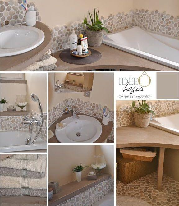 15 must see salle de bains carrel e en mosa que pins for Table de drapier salle de bain