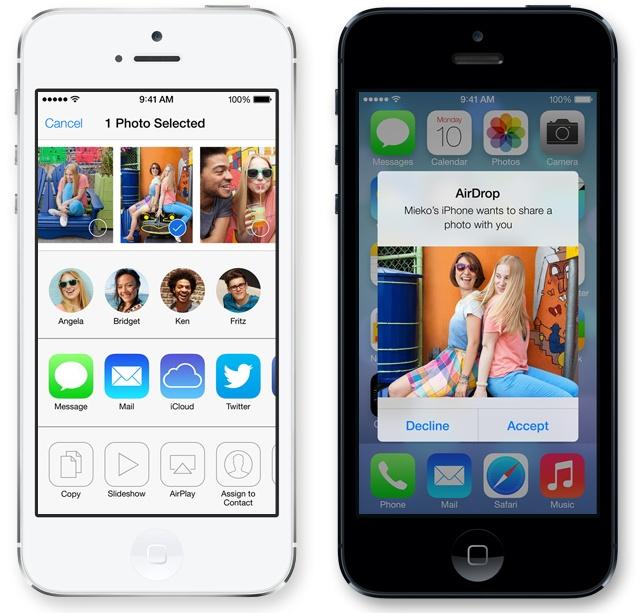 iOS 7 - Airdrop