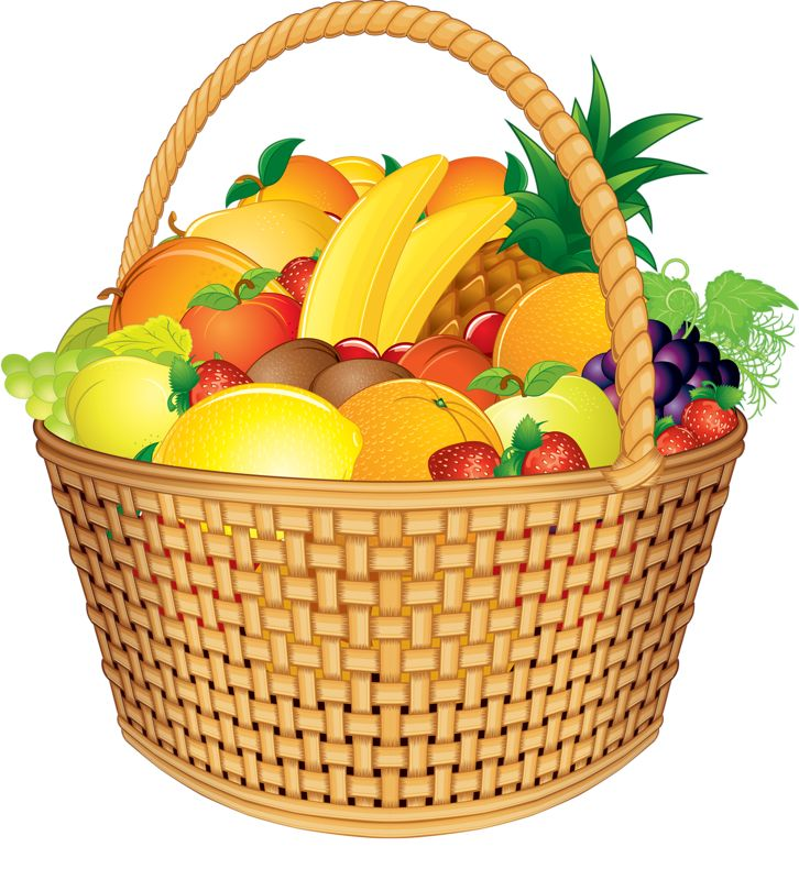 fruits in spanish fruit basket