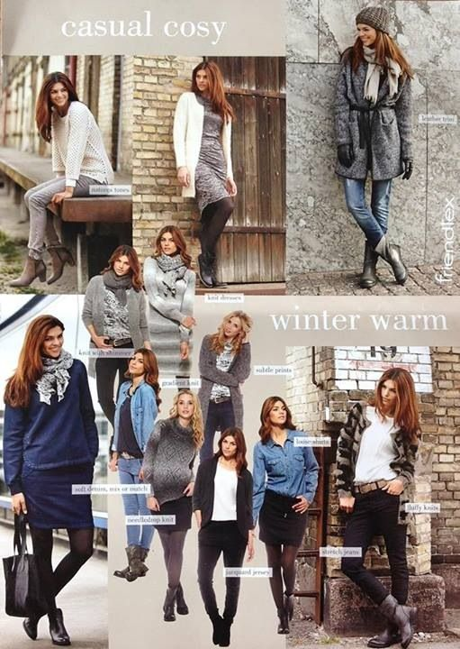 Lookbook: Casual cosy  and Winter warm 2014/2015