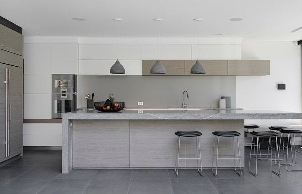 Kitchen by Hare + Klein, image by Nicholas Watt. Part of a project nominated in the Residential Decoration category for the Australian Interior Design Awards 2014.