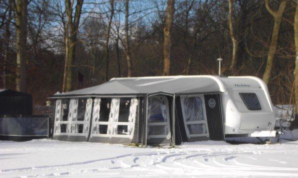 Vintercamping - Arrild Ferieby Camping
