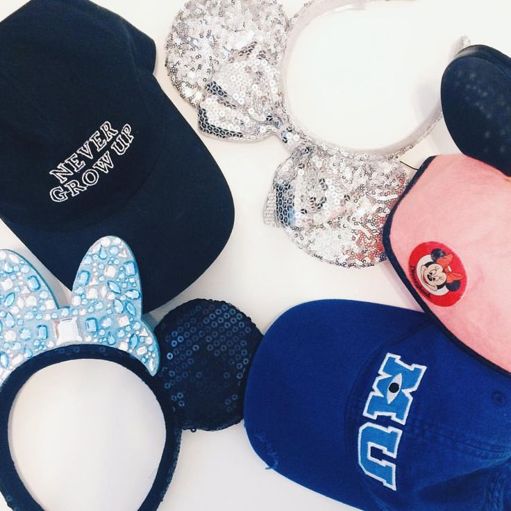 """I realized that I have more Disney-themed hats and headbands than just regular hats... oops ‍♀️…"""