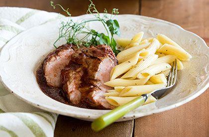 Le Filet de porc à la mijoteuse, une autre façon de savourer le porc du Québec.
