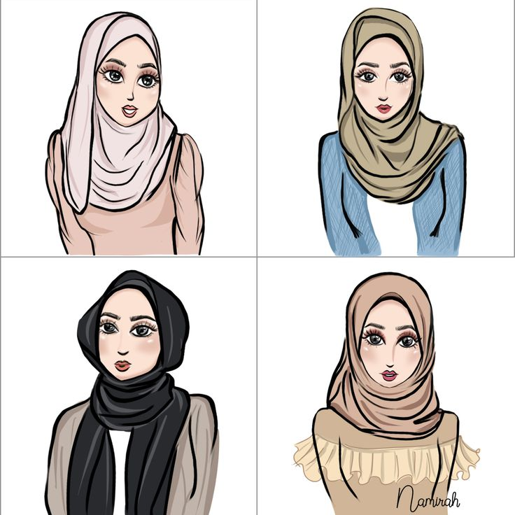 Which one your favourite (everyday) shawls style? me? Always the green one! . . #namirahsketches #fashionillustration