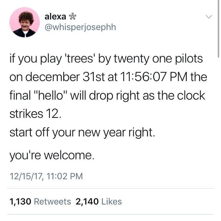 Image Result For If You Play Trees By Twenty One Pilots On