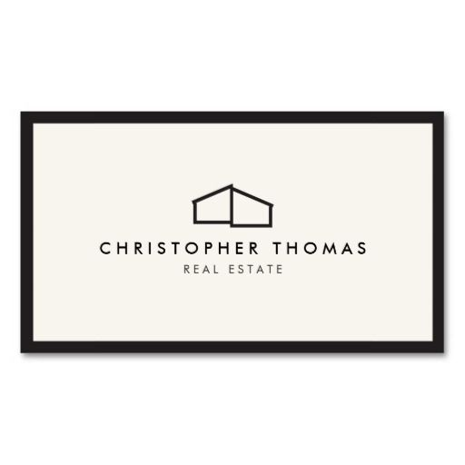 This classic business card template features an elegant, yet simple modern home logo to help brand your real estate business or personal brand. Perfect for realtors, builders, contractors and more. © 1201AM CREATIVE