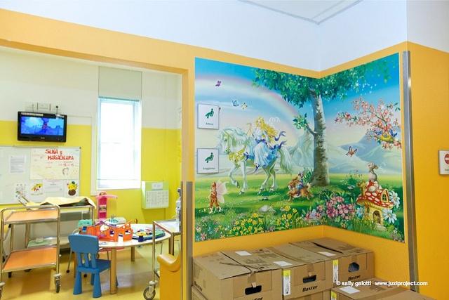 Reparto di Pediatria Specialistica del Policlinico S.Orsola - Malpighi di Bologna, via Flickr.