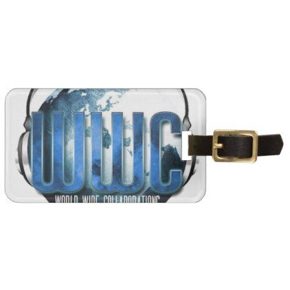 worldwidecollaboration luggage tag - family gifts love personalize gift ideas diy