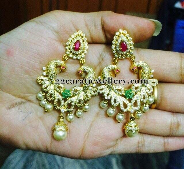 Screw Back Earrings and Jhumkas   Jewellery Designs