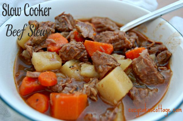 Slow Cooker Back to Basics Beef Stew | Recipe