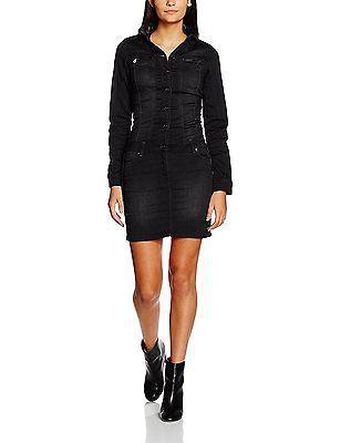 UK 6, Noir (Blackj), Kaporal Women's Hetty Dress NEW