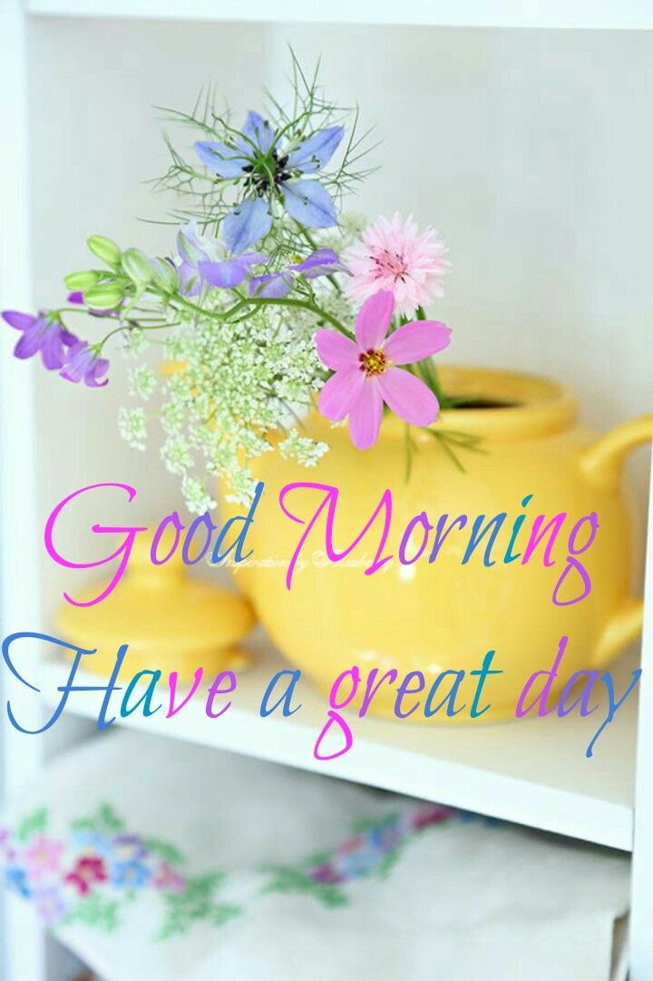 Good Morning Have A Great Day Good Morning Images Flowers Good Morning Friends Images Good Morning Greetings