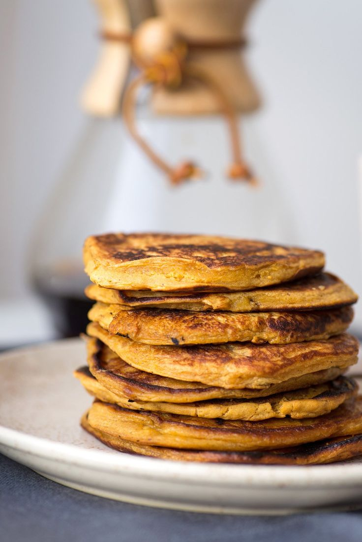 Sweet Potato Pancakes with Yoghurt and Date Paste. Recipe from NOPI Ottolenghi cookbook {photography Mondomulia}