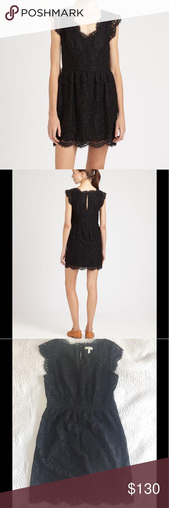 Joie Lace Black Dress Joie dress, size Medium (fits like a 6). EUC Joie Dresses Midi