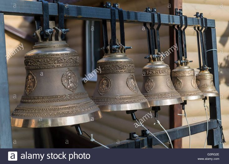 Download this stock image: The bells of the church of the twelve apostles, Moscow, Russia - G3RG2E from Alamy's library of millions of high resolution stock photos, illustrations and vectors.