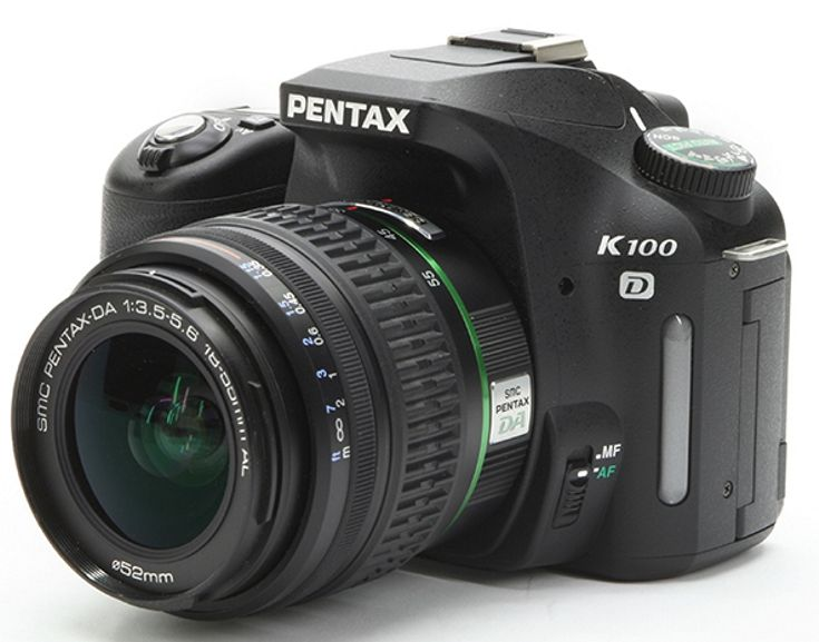 Pentax K100D My first Pentax Digital camera.