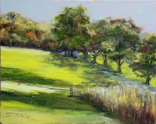 Coverdale Road, 8x10 #pleinair oil, $195. #art #painting