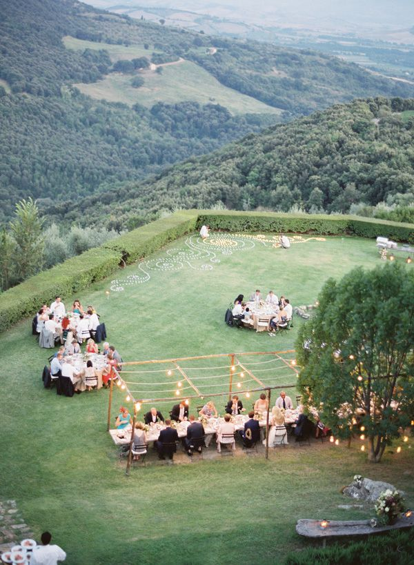 dinner party.Outdoor Wedding, Wedding Receptions, Wedding Photography, Tuscan Wedding, Photography Wedding, Wedding Photos, Tuscany Italy, Ocean View, Outdoor Receptions