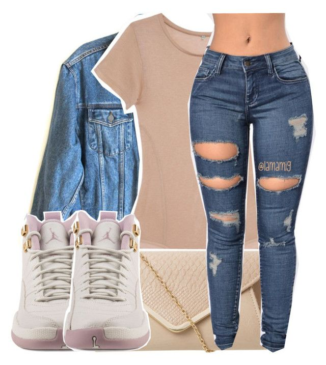 """might switch to this layout."" by lamamig ❤ liked on Polyvore featuring Calvin Klein Jeans, Base Range and NIKE"