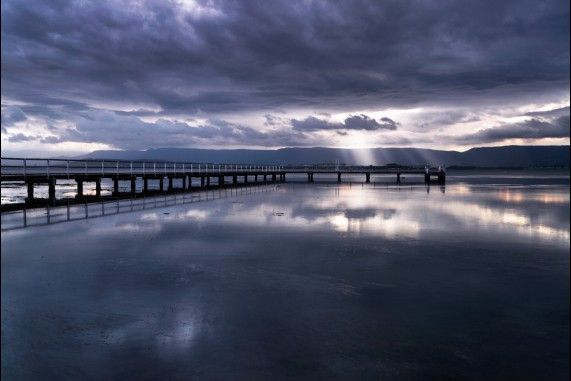 Primbee Jetty on Lake Illawarra NSW.  Find us on Facebook - Chilby Photography!