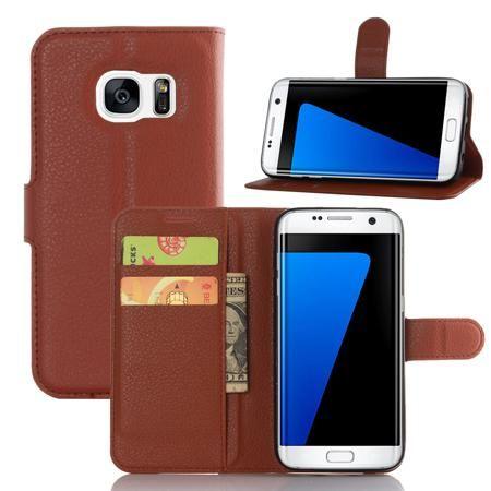 Кожаный чехол для телефона для Samsung Galaxy S7  — 23978.52 руб. —  <p>Совместимость: Samsung Galaxy S7.<br /> Тип: чехол.<br /> Функциональность: защита от загрязнения.<br /> Доп. характеристики: карман для карт, дизайн для вертикальной установки.</p>