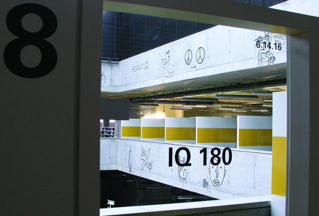Petr Babák - Národní technická knihovna, označení učeben