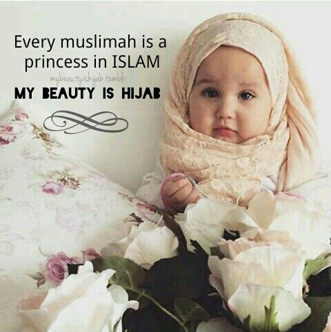 #hijab #muslimah #baby #cutebabies #islam #mybeautyishijab