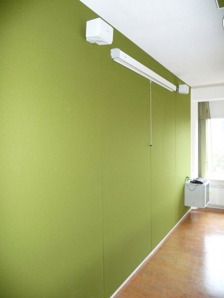 Reverb25 acoustic wall panelling project in NL by Screen Solutions Ltd