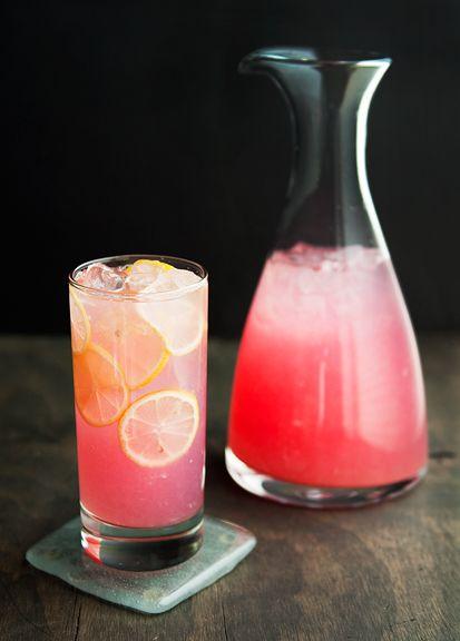 lavender lemonade recipe | use real butter: Strawberries Vodka, Frozen Lemonade Cocktails, Bottle Pink, Pink Lemonade Moscato, Pink Lemonade Cocktails, Moscato Pink, Pink Lemonade Vodka Drinks, Drinkss, Pink Moscato Drinks