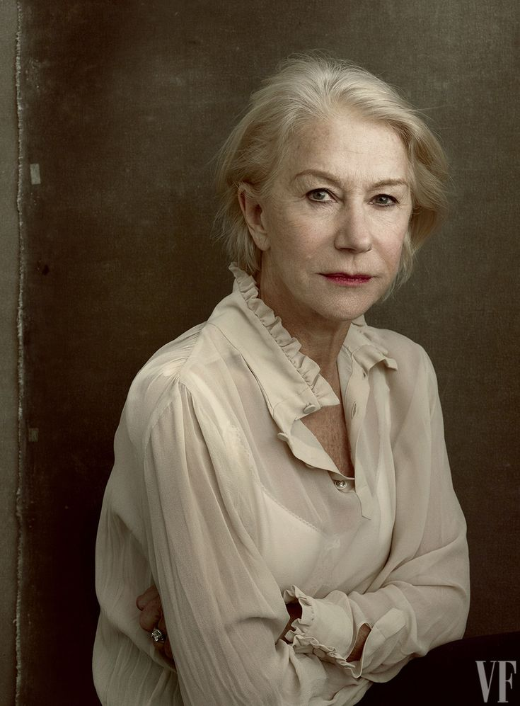 Helen Mirren–60 films, 1 Oscar, 6 BAFTAs, 4 Emmys, 1 Tony.  Photograph by Annie Leibovitz.