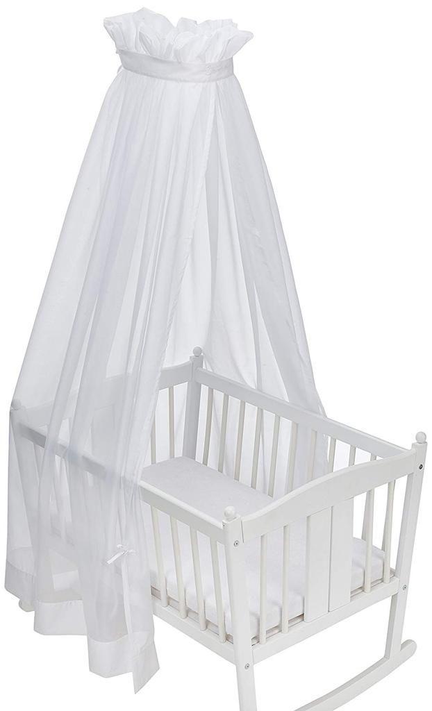 Sterntaler 9231570 Baby Bett Himmel Waschbar Bis 40 Grad Weiss 170 X 280 Cm Bett Himmel Fur Wiege Babybett