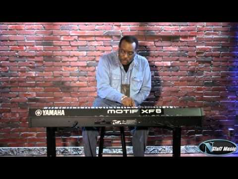 Yamaha Motif XF8 88-Key Workstation Video 1 - YouTube