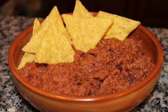 Salsa #Chilli e #Nachos - #Mexican chilli sauce with nachos