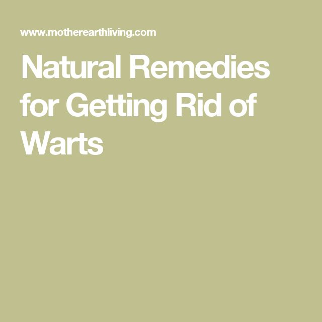 How to Get Rid of Genital Warts Fast With Apple Cider