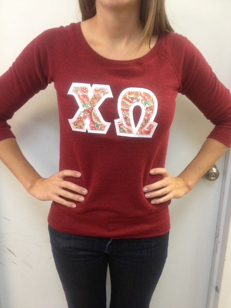 cute bella pull over greek letter shirts pinterest