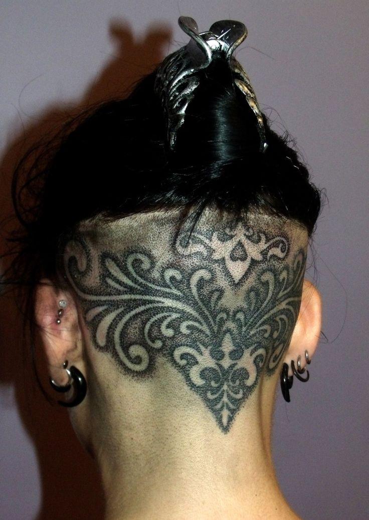 "tenacioustattoo:  ""Kerries head tattoo, by me, done at Tenacious Tattoo studio.."""
