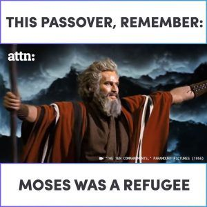 This Passover remember: Moses was a refugee.This Passover remember: Moses was a refugee. #news #alternativenews