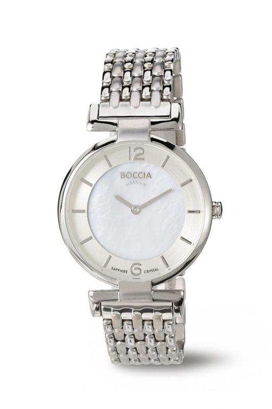 3238-03 - Boccia Titanium dames horloge