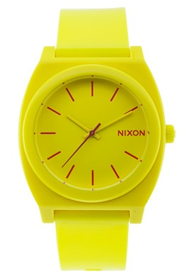 Neon yellow watch