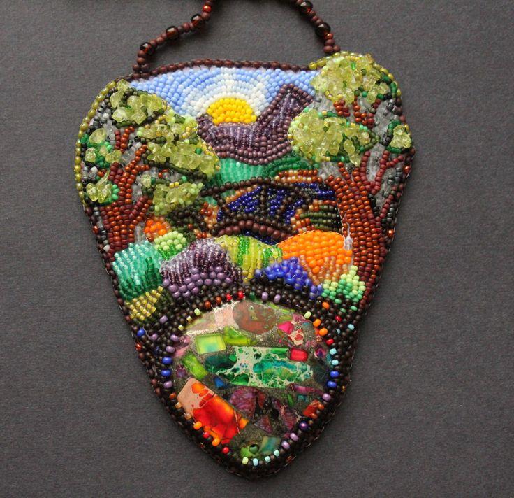 Альбина Лапина, Россия, Москва Коллекция Пейзажи - пейзаж, цветной яркий, экспрессионизм, как он есть )
