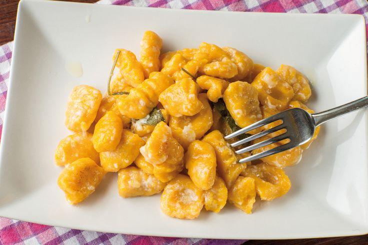 Gnocchi ossolani: farina di castagne e zucca