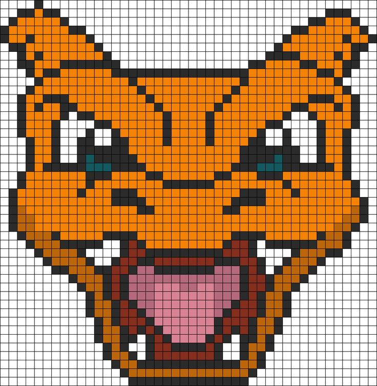 Pokemon Battle Trozei Charizard bead pattern