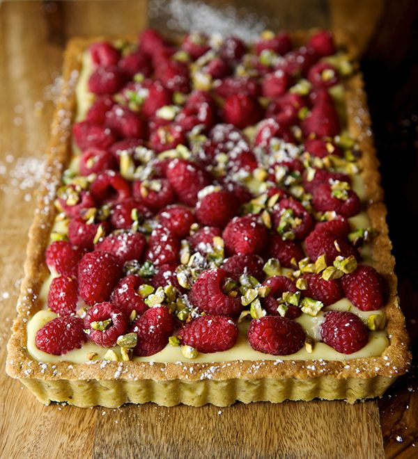 Raspberry Pistachio Tart~Yes, more please!
