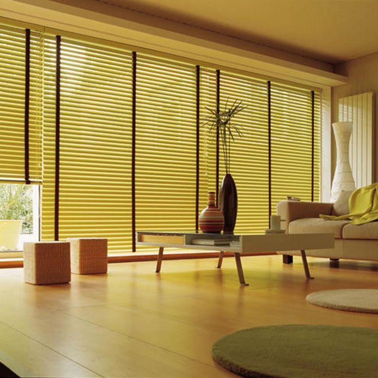 Μεταλλικές περσίδες γαι πλήρη κάλυψη παραθύρων/metallic blinds for full window coverage